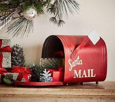 Christmas Mailbox Decoration Ideas Macy U0027s Santa Mailbox In Center Store Macy U0027s Fixtures And Visual