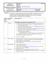 free standard operating procedure template word 2010 template design