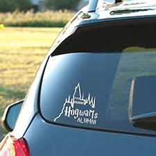 alumni decal hogwarts alumni castle 6 car truck vinyl decal