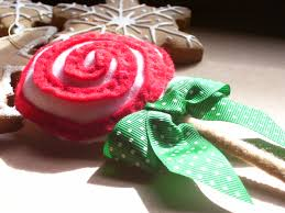 felt christmas candy ornaments busy little christmas elf