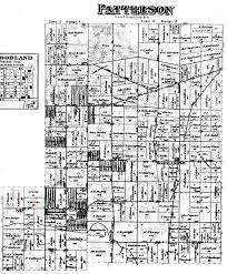Land Ownership Map Bulcher The Spiraling Chains Schroeder Tumbush Family Trees