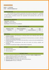 Resume Samples Download For Freshers by Download Fresher Resume Format Free Resume Example And Writing