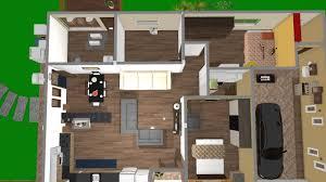 Extreme Casa do sitio sem desnivel de ANA   Planta 3D Mooble &XU68