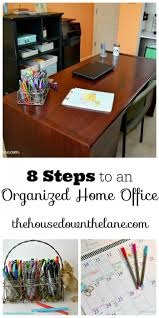 8 steps to an organized home office the melrose family