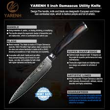 what are the best kitchen knives you can buy yarenh 5 vg10 damascus steel japanese chef knives with color wood