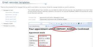 email appointment reminders bookappo