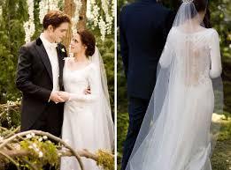twilight wedding dress twilight breaking wedding dress michael wilkinson