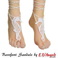 barefoot sandals crochet pattern barefoot sandals pattern