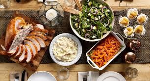 how to create the thanksgiving menu bellozino