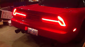 custom car tail lights led nsx tail lights youtube