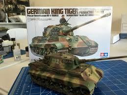 Tamiya Model Spray Paint Building The Tamiya King Tiger Including Painting And Weathering