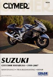 suzuki gsx 1300r hayabusa service repair manual 1999 2007 m265