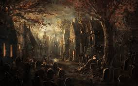 hd wallpapers halloween cemetery wallpapers full hd wallpaper search