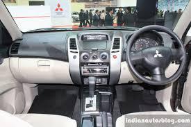 mitsubishi sports car 2014 mitsubishi pajero sport at 2014 bangkok motor show interiors