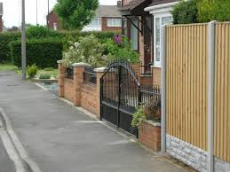 front garden brick wall designs photo on fancy home interior