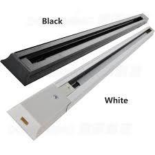 Black Track Lighting Fixtures by Aliexpress Com Buy Led Track Light Rail Connector Track Rail