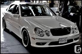 2006 mercedes e55 amg for sale mercedes e55 amg renntech priced to sell vancouver for