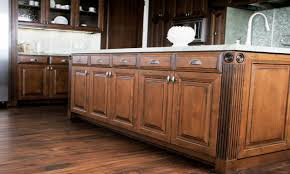 hardwood floors in the kitchen dark maple kitchen cabinets