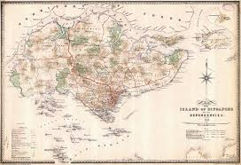 Singapore Map Asia by Large Old Map Of Singapore 1898 Singapore Asia Mapsland