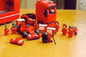 ferrari f1 lego lego ferrari truck u2013 minifigology