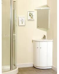 Bathroom Furniture White Gloss Magnificent White Gloss Corner Bathroom Wall Cabinet Dkbzaweb