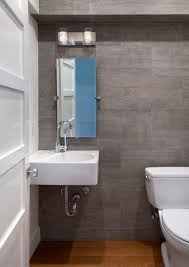 Gatco Bathroom Contemporary Powder Room With Wall Mounted Sink By Urban West