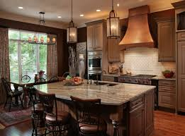 Kitchen Island Countertop Overhang Kitchen Stories Warm And Rustic Kitchen Remodel