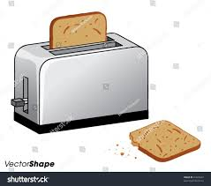 Bread Toaster Toast Clipart Bread Toaster Pencil And In Color Toast Clipart