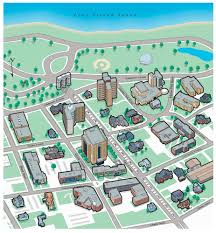 Angelo State University Map by Digital Infographics By Steven Stankiewicz At Coroflot Com