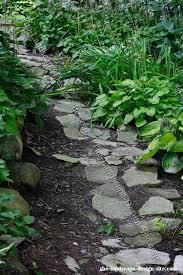 primitive garden path ideas