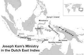 Batavia World Map by Joseph Kam Moravian Heart In Reformed Clothing