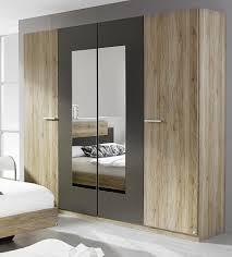 Schlafzimmer Rauch Schlafzimmer Set Mit Bett 180 X 200 Cm Eiche Sanremo Hell Rauch