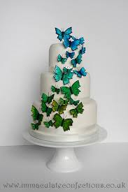 butterfly wedding cake butterfly wedding cake cakes by natalie porter hertfordshire