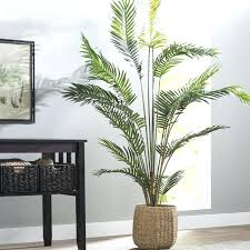 artificial trees for home decor paradise palm tree floor plant in