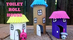 how to make a toilet paper roll house toilet paper roll crafts