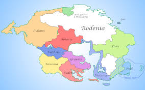 Scandinavia On Map Image Map Of Rodenia Png New Continent Wiki Fandom Powered