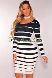 navy blue and white dress good dresses