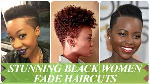 fade hairstyle for women stunning black women fade haircuts youtube
