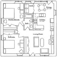 600 sq ft house plans 2 bedroom 1 600 square feet apartment