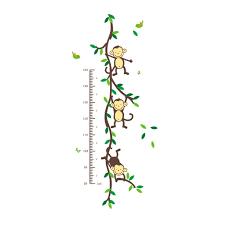 Tree Decals Nursery Wall by Amazon Com Cute Monkey Climbing On Beautiful Tree Monkey Wall