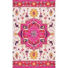 Pink Floral Rugs Vintage Pink Floral Rug Products Bookmarks Design Inspiration