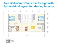 Granny Unit Plans Two Bedroom Flat Plans Photos And Video Wylielauderhouse Com