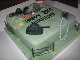 war cakes commando tanks war birthday cake cakecentral