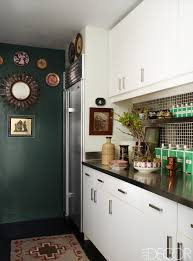 Backsplash Ideas For Small Kitchen by Kitchen Style Small Kitchen Ideas White Flat Cabinets Dark Green