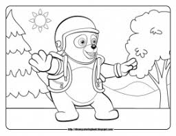 dog adventure colouring pages 3 coloring