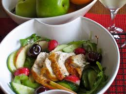 cucumber apple and celery salad with chicken u2013 my favourite pastime