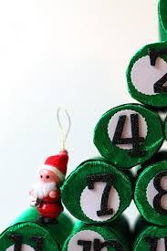 diy advent christmas tree using paper rolls hometalk