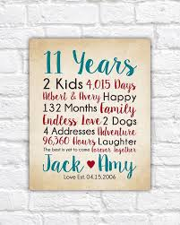 11 year anniversary gift ideas 11 year wedding anniversary gift ideas wedding gifts