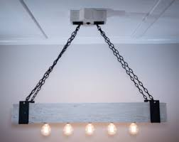 the scantling 5ft rustic industrial beam by handcraftedlighting