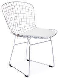 Wire Desk Chair Dining Room Excellent Retro Circles Chair Cream Dwell For White